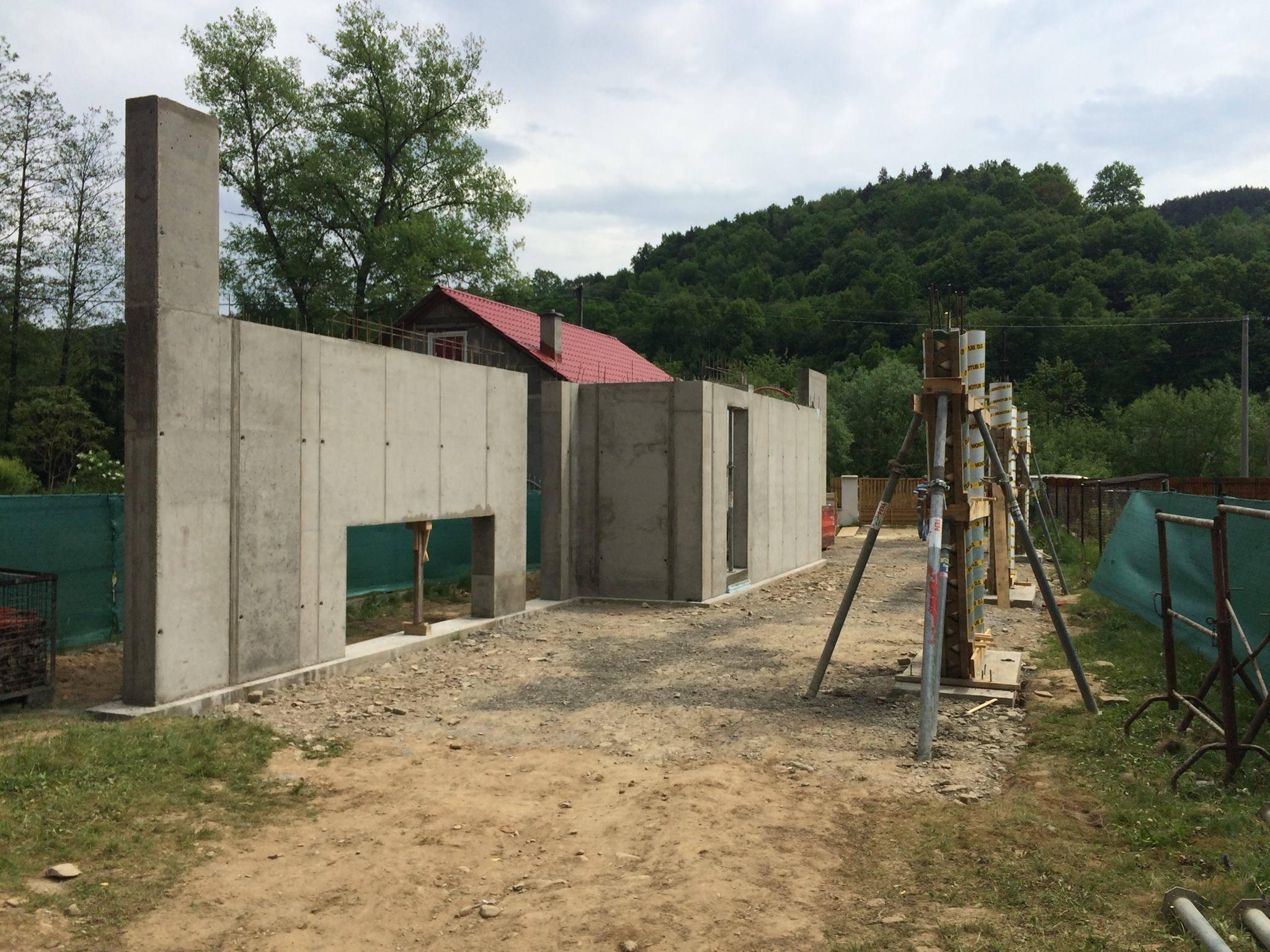 výstavba domu Skala 01